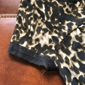 Converse Dresses - Converse Leopard Print Short Sleeve Skater Dress